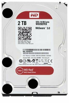 WD20EFRX WD RED 2TB 25MM 6G SATA 5400RPM HDD incl.20% VAT FREE Carriage