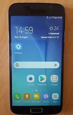 A Samsung Galaxy S6 Smart Phone. unlocked, in  good condition - all working