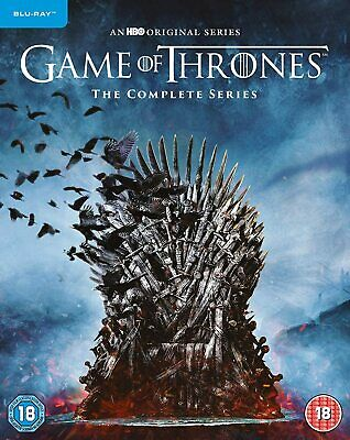 Game of Thrones Seasons 1-8 - The Complete Series [2019] (Blu-ray) Emilia Clarke