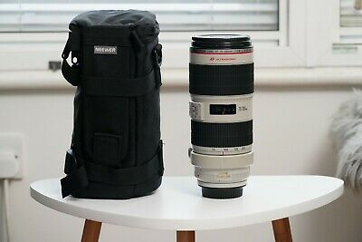 Canon EF 70 mm - 200 mm F/2.8 EF IS II USM Lens for Canon - White