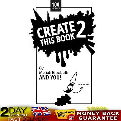 Create This Book 2:Volume 2 Moriah Elizabeth's Paperback Creative Power Designs