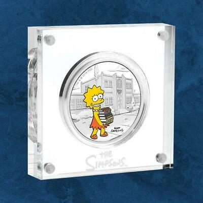 Tuvalu - the Simpsons™ - Lisa - 1 $2019 Pf / Proof - Silver - the S