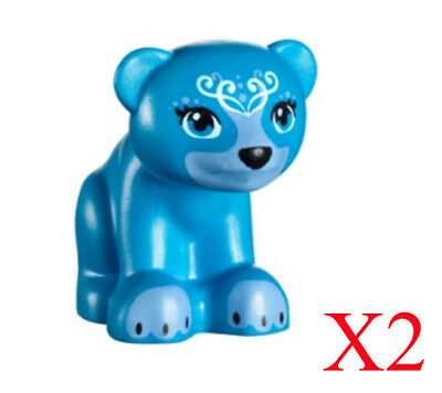 Bear with Cub New BLUBEARY and LIL' BLU Lego Elves MiniFigure Animal 41183