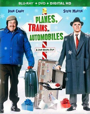 Planes, Trains And Automobiles - Blu Ray + DVD with case/artwork - No Digital