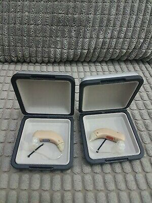 Siemens Reflex M  Digital Hearing Aid with carry case  Left & Right