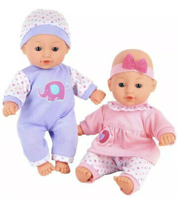 Chad Valley Babies to Love Talking Twin Dolls - Brand New