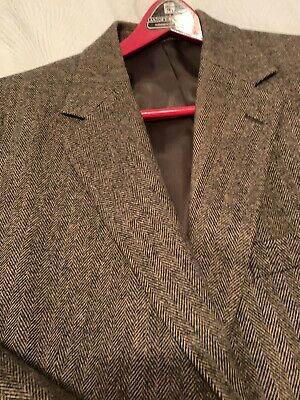 GIANFRANCO RUFFINI Grey Taupe Camel Hair Wool Blend Sport Coat Blazer 44L