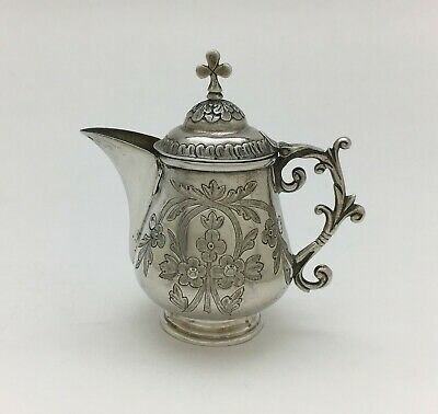 Fine Russian Imperial Silver Church Communion Pitcher  Andrei Vekman Moscow 1869