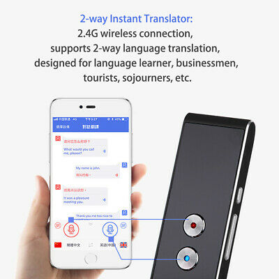 Translator for MUAMA Smart Instant Real Time Voice 30+ Languages Translat AU