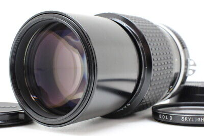 【Mint】Nikon Ai Nikkor 200mm f/4 MF Manual Telephoto Lens From Japan Ja-73