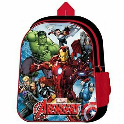 Marvel Avengers Kids Boys Junior Backpack Rucksack