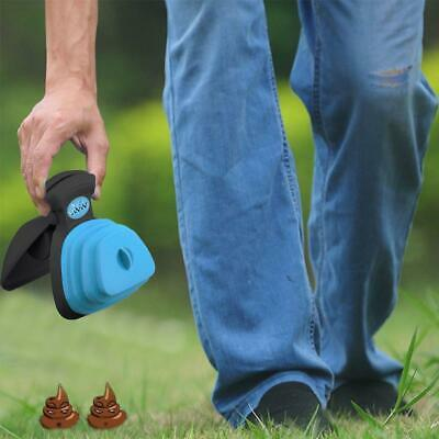 Foldable Pet Garbage Clean Waste Poo Bag Carrier Dog Waste Poop Dispenser