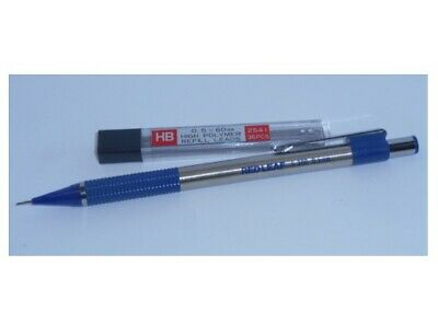 Mechanical Pencil 0.5mm / 0.5mm Automatic Clutch HB lead + Free Tube of HB Leads