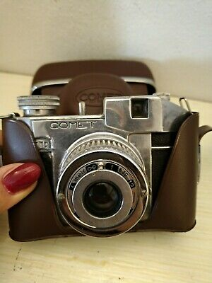 Machine Photography D'Epoca Comet Film 127 Bencini Made in Italy with Case