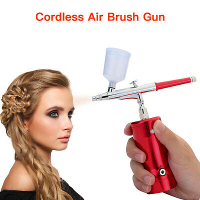 Charge AirBrush Compressor Cordless Air Brush Gun Capacity for Tatto Beauty Tool