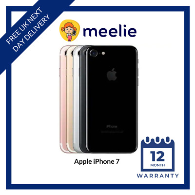 Apple iPhone 7 32/128GB - (Unlocked) Smartphone Various Colours Grades