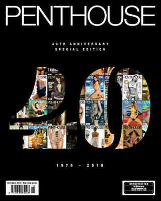 Penthouse Australia 40th Anniversary Special Edition 2019 + Little Black Book 4