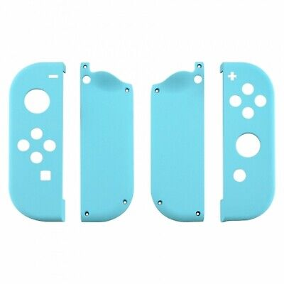 Nintendo Switch Joy-Con Controller Replacement Baby Blue Faceplate Shell Case