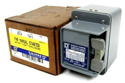 New Square D 2510-Fw-1 Fhp Manual Starter 2510Fw1