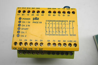 Used Pilz Pnoz-X9-7S/2O Safety Relay Pnozx97S2O