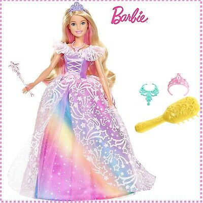 Barbie Royal Ball Princess Doll Playset Kids Toys Girls Figures Dreamtopia Gifts