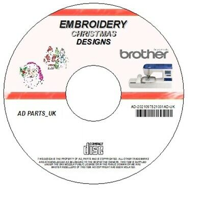 1000 Embroidery Xmas Christmas Designs Download Only - Brother Pes Hus