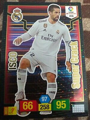 Adrenalyn Xl 2018 2019 Supercrack N ° 456 Isco