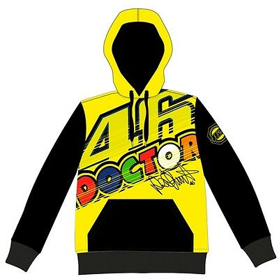VR46 Moto GP Valentino Rossi Doctor Fleece/Hoodie men's VRMFL 262001 Size XL