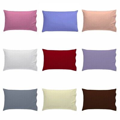 Cot Bed Pillow Case Only For Baby Toddler - Poly Cotton Pillow Cover 40 x 60 cm