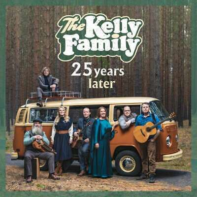 THE KELLY FAMILY 25 Years Later CD neues Album 2019 NEU 25 Jahre Over The Hump