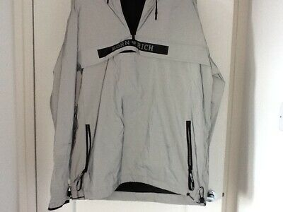 Born Rich Extra large Grey reflective Anorak new