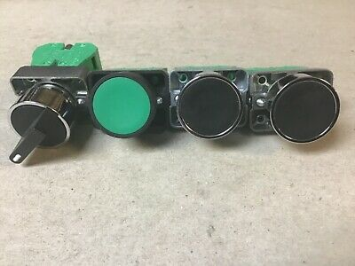 Automation Direct ECX 1040  W/ Push Buttons, Selector Switch-Lot of 4