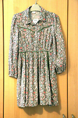 Next Girls Gorgeous Crinkle Floral Dress Age 8 Years BNWT