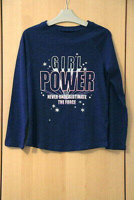 Next Girls Navy Slogan  Christmas Top & Tights Age 9 Years BNWT