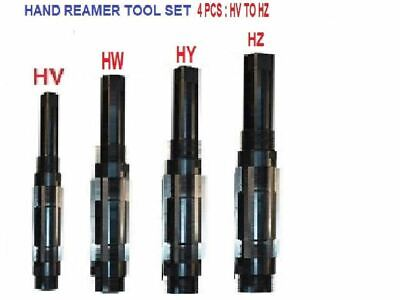 """1//4/"""" Inch 7 Pcs Set Adjustable Hand Reamer 7 Pieces Size HV To H3 15//32/"""" Inch"""