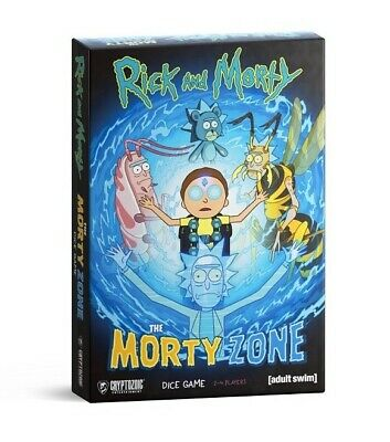 Rick And Morty The Morty Zone Dice Game Season 4 Card Anime Priority Ship Free!!
