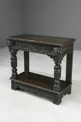 Antique 17th Century & Later Oak Side Table