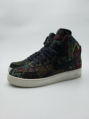 2013 NIKE AIR Lunar Force 1 High LUX BHM QS Men's SZ 12