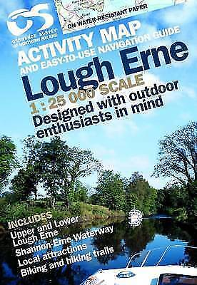 Lough Erne by Ordnance Survey of Northern Ireland (Sheet map, folded, 2008)