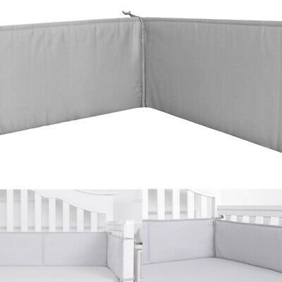 Newborn Crib Bumper Fallproof Nursery Bedding Anti Collision Safe Pads