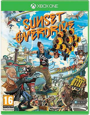 Sunset Overdrive Microsoft Xbox One ** Brand New & Sealed Official UK Game **