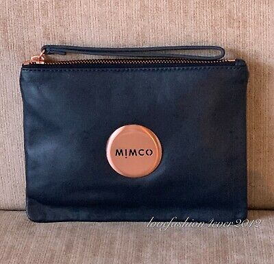 Mimco LOVELY MEDIUM POUCH SHELL PINK Leather Authentic New with tag RRP99.95