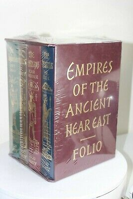 Empires Of The Ancient Near East - 4 Volume Set - Folio Society NEW, SEALED