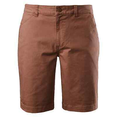 NEW Kathmandu Earthcolours Mens Cotton Blend 5 Pocket Casual Travel Shorts Earth