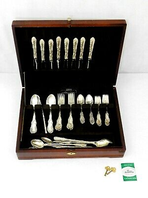 Old English by Towle Sterling Silver 50 Piece Set - Approx 1700 Grams of .925