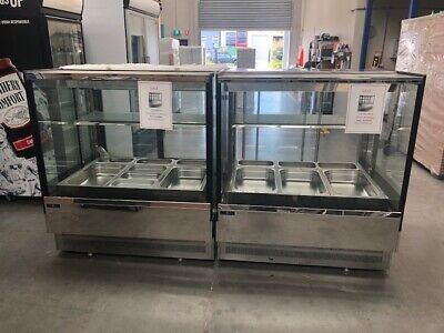 Cake display cold  and hot Bain Marie 2400mm