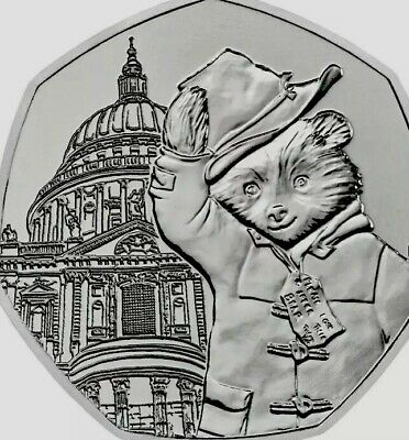 UK Coin 2019 Paddington 50p At St Saint Paul Cathedral New UNC From Bags