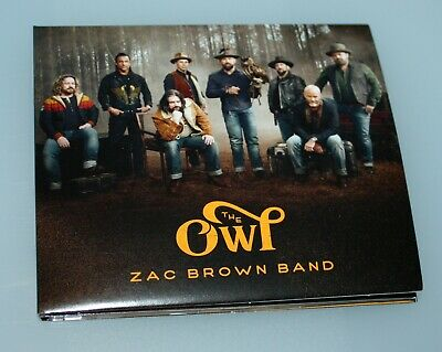 Zac Brown Band THE OWL (2019) CD - MINT