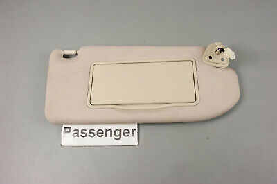 2008-2013 Infiniti G37 Passenger Side Sun Visor with Lighted Mirror Extend Panel
