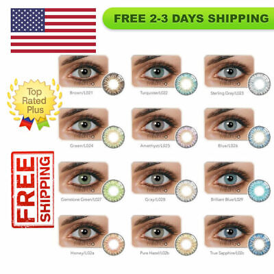 Vibrant Color Contacts Eye Lenses Colorblends Makeup Lens Gift LAST 1 YEAR! !